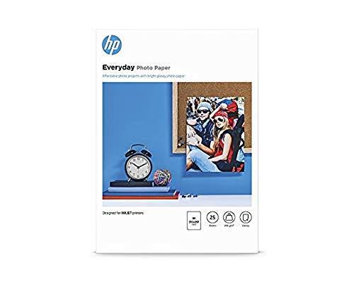 HP Q 5451 A - Papier Photo, Brillant A4 200 G, 25 Feuille