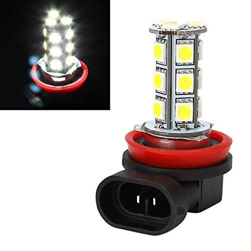 iTimo H8 H11 Phare de voiture LED 5050 18 SMD Ampoule de remplacement pour voiture DC 12 V