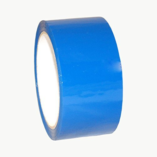 JVCC OPP-20C Economy Grade Colored Packaging Tape: 2 in. x 55 yds. (Blue) by J.V. Converting