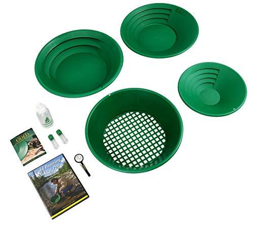 Garrett Deluxe Gold Pan Kit 1651410