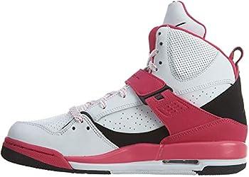 Nike air Jordan Flight 45 high IP GG hi top Trainers 837024 Sneakers Shoes  5 White Black Vivid Pink 158