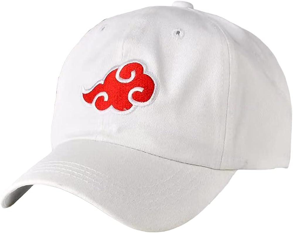 Mbeliever Akatsuki Cloud Logo Dad Hat Anime Cap Athletic Caps Baseball Cap Logo Embroidered Cap Peaked Cap Cosplay