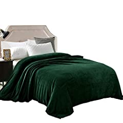 ·250GSM FLANNEL FLEECE- The flannel fabric we choose is originally made from 100% microfiber polyester and brushed to create extra softnessonboth sides,this bed blanket is designed to be simple but elegant ·VERSATILE- This premium Twin size blanket...