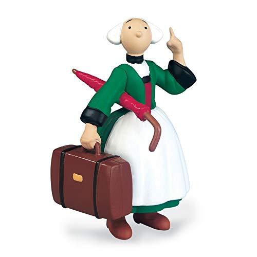 Plastoy - Figura de colección Bécassine con su maleta y paraguas (61010)