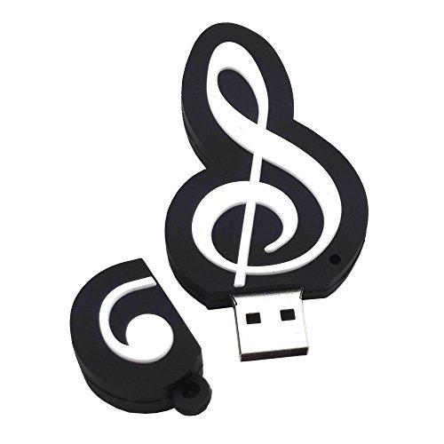 Shooo 8GB Cartoon Music Note Chiavetta USB Memory Stick