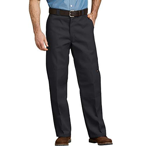 Dickies Herren Sporthose Streetwear Male Pants Double-Knee Work, Black, 34W x 34L