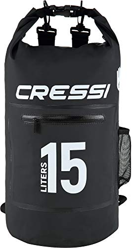 Cressi Dry Bag with Zip Mochila Impermeable con Cremallera