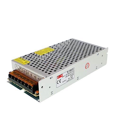 Trasformatore Adattatore di Alimentazione Switching per Display, CCTV, Telecamere di Sicurezza, Progetto per Computer, Luci a LED (5V 30A 150W)