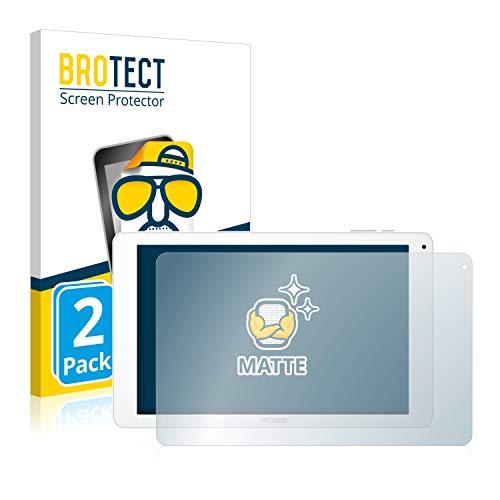 BROTECT 2X Entspiegelungs-Schutzfolie kompatibel mit Archos 101 Platinum 3G Bildschirmschutz-Folie Matt, Anti-Reflex, Anti-Fingerprint