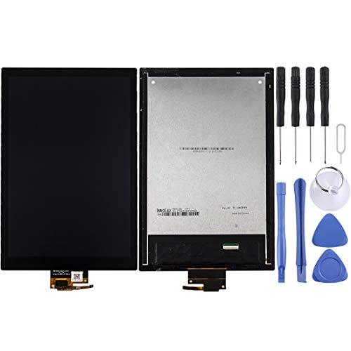 ASAMOAH Pieza de reemplazo del teléfono Celular For Acer Predator 8 GT-810 Pantalla LCD Ensamblaje de digitalizadorde Pantalla táctil Accesorios telefonicos (Color : Black)