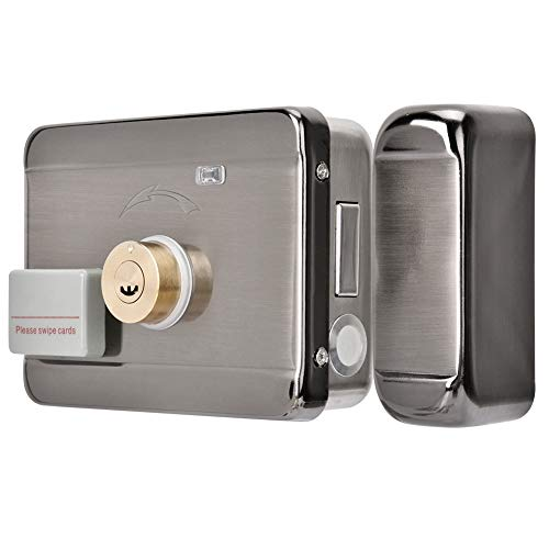 Wireless Elektroschloss Tür Zugriffskontrollsystem, DC 12V Fernbedienung Türschloss Kit mit Wireless Tür Access Control System