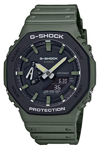 [カシオ] 腕時計 ジーショック ユーティリティカラー カーボンコアガード構造 GA-2110SU-3AJF メンズ グリーン