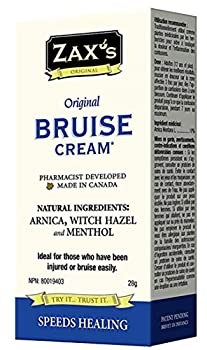 Zaxs Original Bruise Cream - #1 Selling Bruise Cream Speeds Healing by 4 Days! Reduces Pain & Inflammation Reduces Discoloration Ideal for Medical Cabinet & 1st Aid Kit