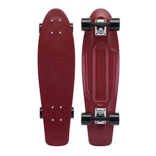 Penny - Skateboard Burgundy, 27
