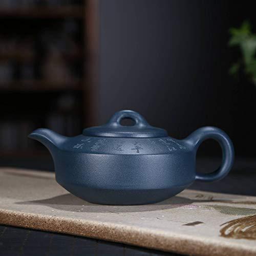 Danjia groene klei theepot erz circovers schijf met de hand van de binnenkant van de beroemde Kung-Fu theepot pot (kleur: paars mud)