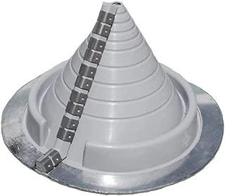 #2 Round Gray Zip-Seal Pipe Flashing (3/8