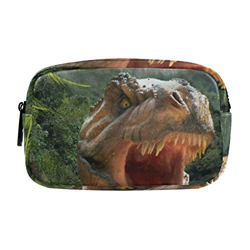 Gifts for Women, Makeup Bag, Cosmetic Bag, Toiletry Pouch Travel Accessories, Jungle Dinosaurs
