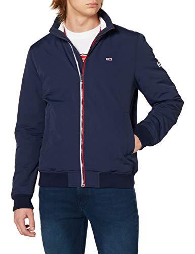Tommy Jeans TJM Essential Padded Jacket Chaqueta, Azul Marino (Twilight Navy), L para Hombre
