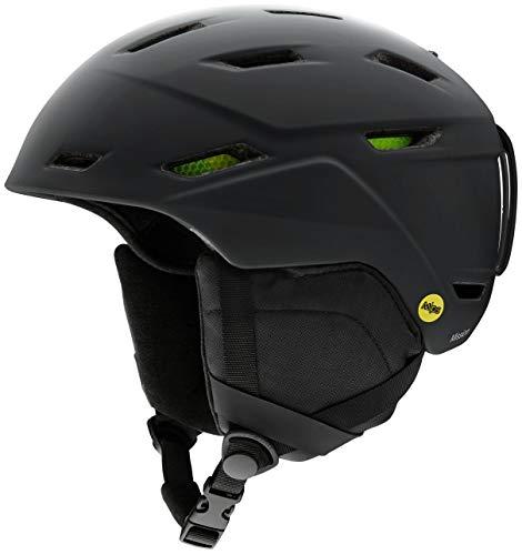 Smith Optics Mission MIPS Snowboarding Helmets (Matte Black, Medium)