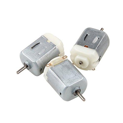Rtengtunn 3 stück dc 3 v-6 v 130 Miniatur dc Motor für elektrische spielzeugauto Roboter DIY Teile