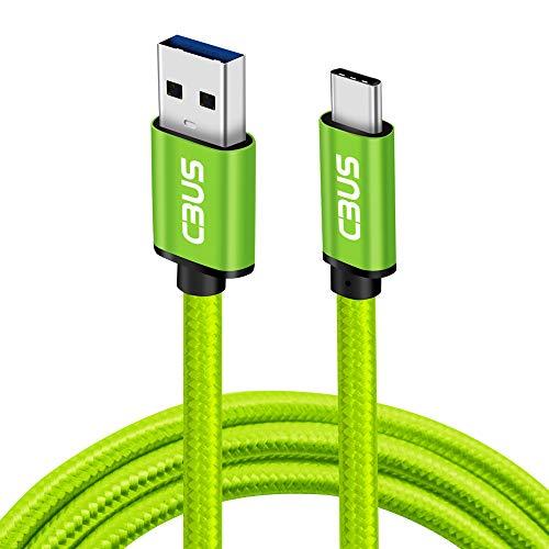 CBUS - Cable Trenzado USB-C Carga Rápida para Xiaomi Mi 11, Mi...