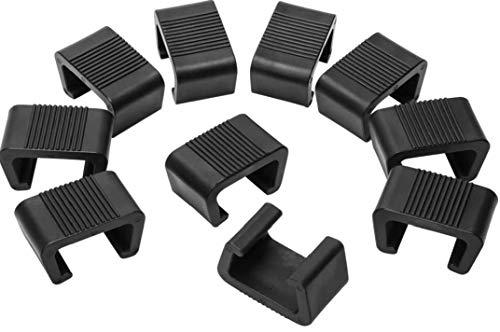 Runfun Clips De Muebles De Mimbre Al Aire Libre Patio Clip De Plástico Sofá Conectar Abrazaderas para Sillas Muebles De Jardín Sofá Sofá 10pcs 5.25cm Tiesto