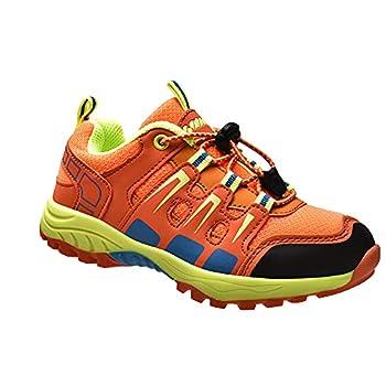 Garçons Chaussures de Randonnée Extérieure Filles Respirant Baskets de Marche Chaussures Trail Enfant Antidérapant Sneakers pour Mixte