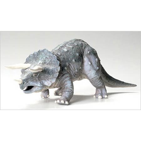 タミヤ 1/35 恐竜シリーズ No.01 トリケラトプス プラモデル 60201