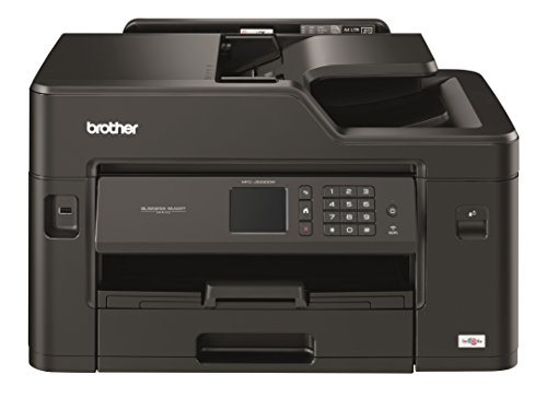 Brother MFCJ5330DW - Impresora multifunción de tinta profesional, conexión WiFi, con tecnología de inyección de tinta, Negro