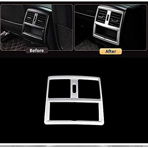 HKPKYK D/écoration de climatiseur de voiture,Pour Mercedes Benz ML320 350 GLE W166 coup/é c292 350d GL450 x166 GLS amg int/érieur arri/ère garniture de couvercle de cadre de support de verre deau