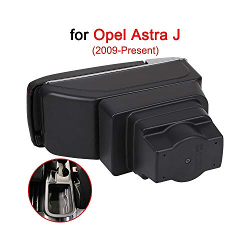 QCFSXWDDX Für Opel Astra Armlehnenbox Für Opel Astra J Universal Auto Mittelarmlehne Aufbewahrungsbox Getränkehalter Aschenbecher Modifikation Zubehör
