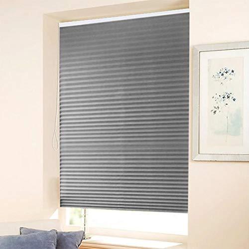 Plissee Klemmfix ohne Bohren, nstallationszubehör, Sichtschutz Sonnenschutz, Faltrollo Rollos für Fenster & Tür