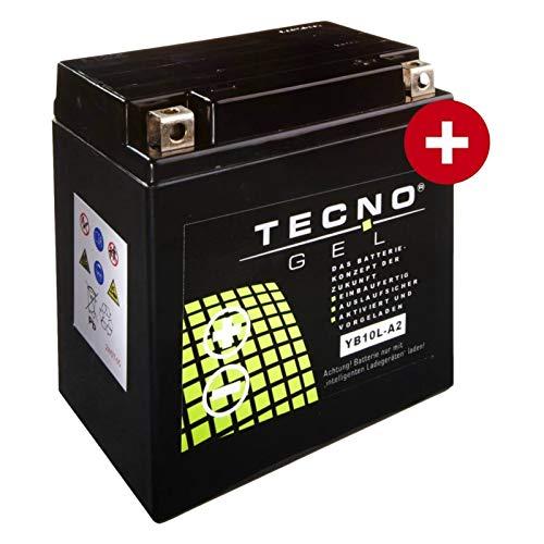 Preisvergleich Produktbild Tecno YB10L-A2 Gel Batterie GN 250 1985-1999