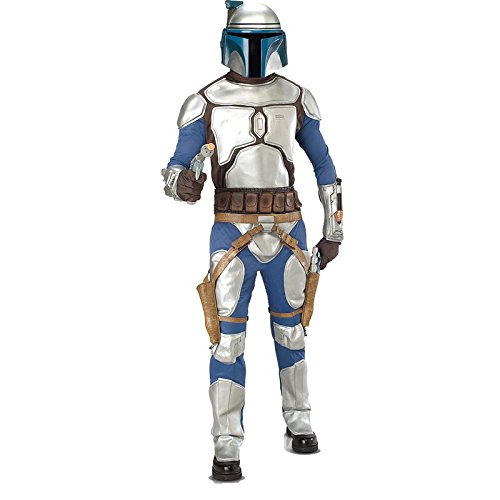 Star Wars tm Jango Fett tm Deluxe Adult Costume - Disfraz,