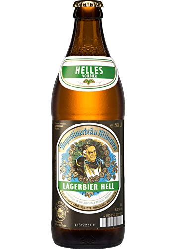 Birra Bavarese - Augustiner Hell - Cassa da 20 Bottiglie da 0,50 l.