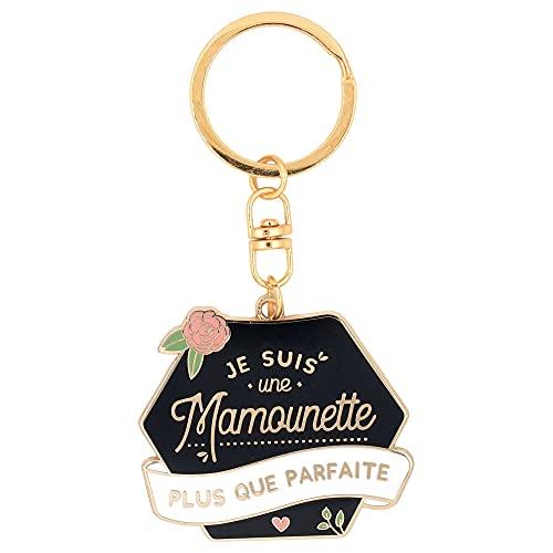 Porte clés Mamounette   Je suis une mamounette plus que parfaite   cadeau pour maman, fête des mères