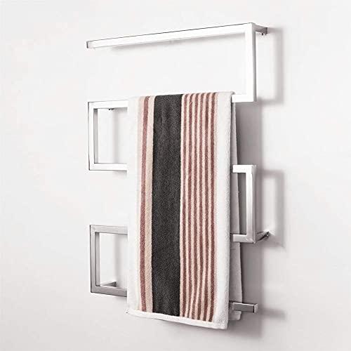 Inicio Equipos Calentador de toallas Calentadores de toallas cromados Elegante secador de ropa eléctrico Radiador de montaje en pared Acero inoxidable Pulido de superficies Toallero de baño 900 * 6