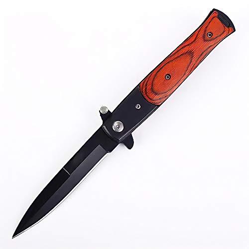 Eil Klappmesser Scharfes Outdoor Messer Jagdmesser & Survival Knife Einhandmesser Taschenmesser mit Edelstahlklinge