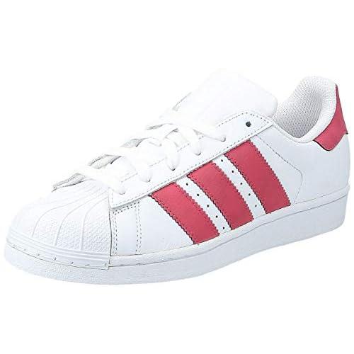 adidas Superstar, Scarpe da Ginnastica Basse Unisex-Adulto, Bianco (White Cq2690), 37 1/3 EU