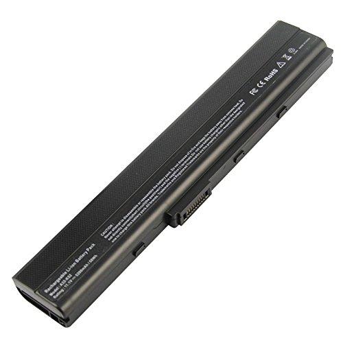 ARyee 5200mAh 11,1 V A42-K52 Akku Laptop Akku für Asus A31-K52 A32-K52 A41-K52 A42-K52 A31-B53 K52L681