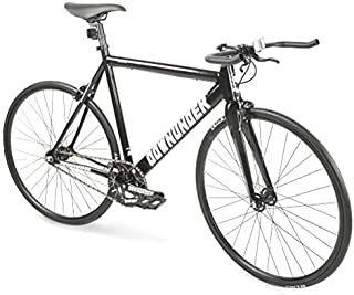 ZOYO Fixie Bike 700C Fixed Gear Bike Lightweight Track Bike Single Speed Bike with Bullhorn Handlebars Fixed Gear Road Bike
