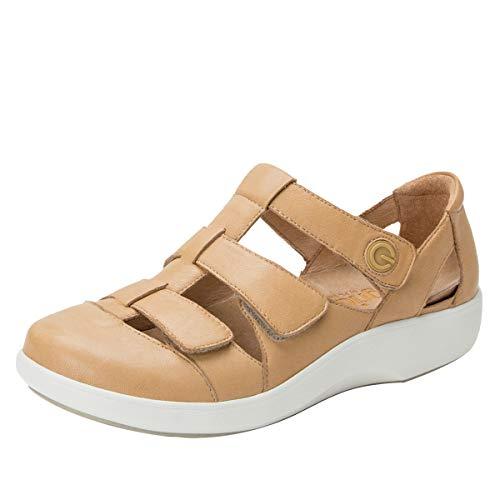 Alegria TRAQ Treq Womens Smart Walking Shoe Natural 9 M US