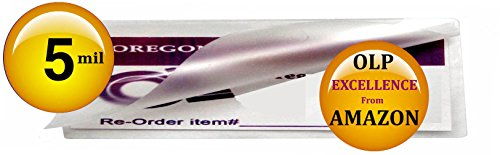 Qty 200 2x6 Bookmarks Laminating Pouches 2-1/4 x 6-1/4 Hot Laminator Sleeves 5 Mil