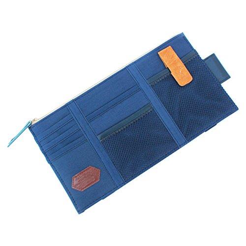 lzndeal Auto Car Visor Storage Bag Organizer Pocket Pouch Card Cell Phone Pen Sunglasses Holder