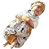 Atelier MiaMia - Pumphose Set Baby Kind von 56, 62, 68, 74, 80, 86, 92, Designer Babyhose Set Limitiert !! Mint, Schwarze Anker (62)