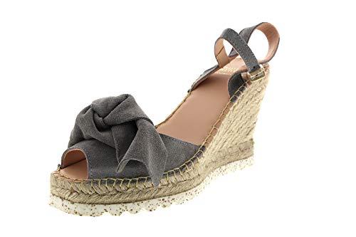 Fred de la Bretoniere Espadrille Sandalet 153010092 Grey, Größe:40 EU