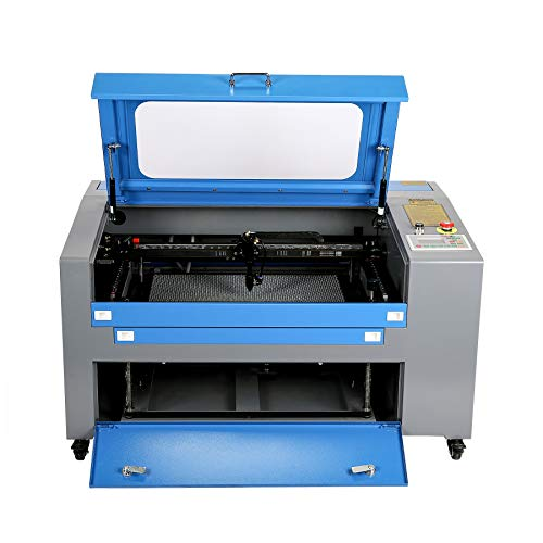 Orion Motor Tech 55W Co2 Laser Engraving Cutting Machine, Large 16 x 24in...