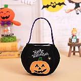 PPTS Halloween bolsa de dulces decoracin bolsa de tela de los nios llevando bolsa de calabaza bolsa de regalo de Halloween accesorios accesorios suministros