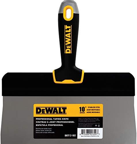 DEWALT 12 Big Back Taping Knife | Stainless Steel w/Soft Grip Handle | DXTT-2-194