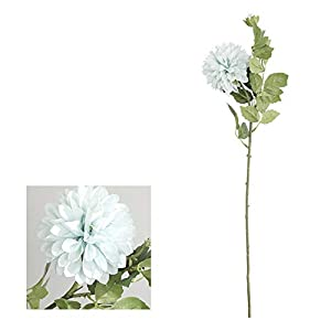 Artificial and Dried Flower 1Pc Artificial Silk Flower Aztec Dahlia Photography Prop Wedding Home Floral Decor Family Wedding Party Decoration